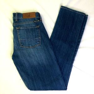 Lucky Brand Sofia Straight Jeans 2/26 Women's Blue